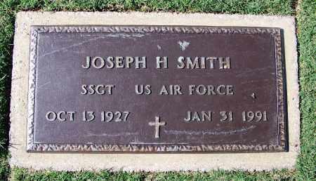 SMITH (VETERAN), JOSEPH H - Franklin County, Arkansas | JOSEPH H SMITH (VETERAN) - Arkansas Gravestone Photos