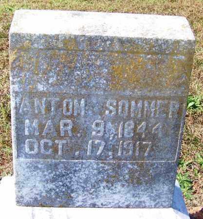 SOMMER, ANTOM - Franklin County, Arkansas | ANTOM SOMMER - Arkansas Gravestone Photos