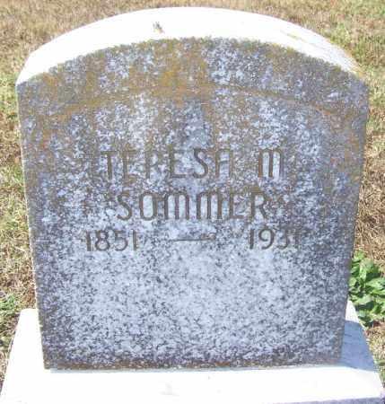 SOMMER, TERESA M - Franklin County, Arkansas | TERESA M SOMMER - Arkansas Gravestone Photos