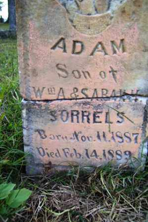 SORRELS, ADAM - Franklin County, Arkansas | ADAM SORRELS - Arkansas Gravestone Photos
