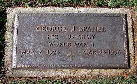 SPANEL (VETERAN WWII), GEORGE J - Franklin County, Arkansas | GEORGE J SPANEL (VETERAN WWII) - Arkansas Gravestone Photos
