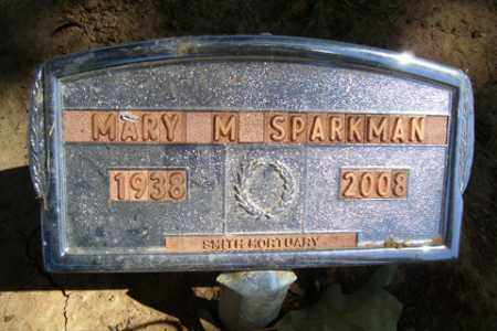 SPARKMAN, MARY M. - Franklin County, Arkansas | MARY M. SPARKMAN - Arkansas Gravestone Photos