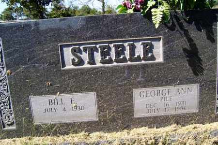 STEELE, GEORGE ANN - Franklin County, Arkansas | GEORGE ANN STEELE - Arkansas Gravestone Photos
