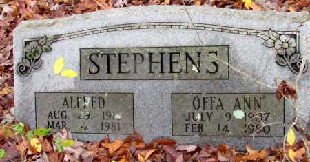 STEPHENS, ALFRED - Franklin County, Arkansas | ALFRED STEPHENS - Arkansas Gravestone Photos