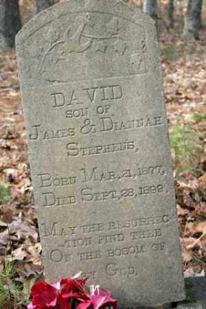 STEPHENS, DAVID - Franklin County, Arkansas | DAVID STEPHENS - Arkansas Gravestone Photos