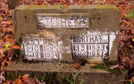 STEPHENS, BERTHA BELL - Franklin County, Arkansas | BERTHA BELL STEPHENS - Arkansas Gravestone Photos