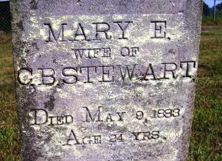 STEWART, MARY E. - Franklin County, Arkansas | MARY E. STEWART - Arkansas Gravestone Photos
