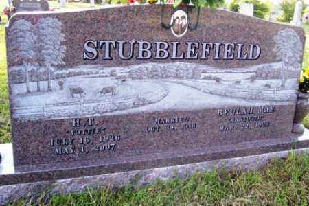 "STUBBLEFIELD, H. T. ""TOTTIE"" - Franklin County, Arkansas 