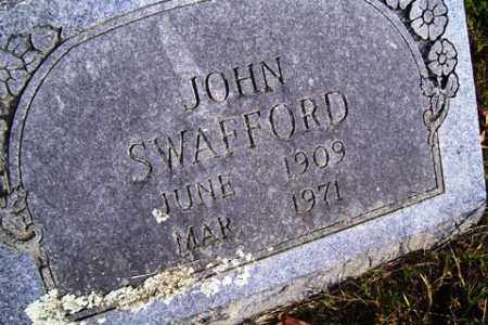 SWAFFORD, JOHN - Franklin County, Arkansas | JOHN SWAFFORD - Arkansas Gravestone Photos