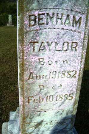 TAYLOR, BENHAM - Franklin County, Arkansas | BENHAM TAYLOR - Arkansas Gravestone Photos
