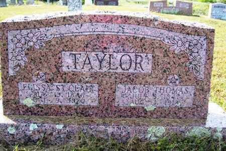 TAYLOR, ELISSA - Franklin County, Arkansas | ELISSA TAYLOR - Arkansas Gravestone Photos