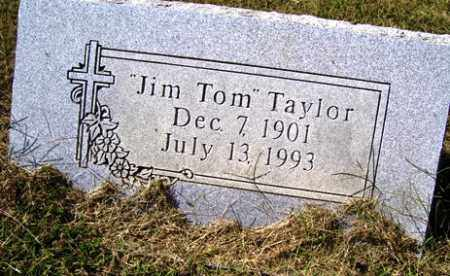 TAYLOR, JIM TOM - Franklin County, Arkansas | JIM TOM TAYLOR - Arkansas Gravestone Photos
