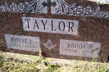 TAYLOR, RHODA L. - Franklin County, Arkansas | RHODA L. TAYLOR - Arkansas Gravestone Photos
