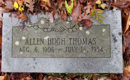 THOMAS, ALLEN HUGH - Franklin County, Arkansas | ALLEN HUGH THOMAS - Arkansas Gravestone Photos