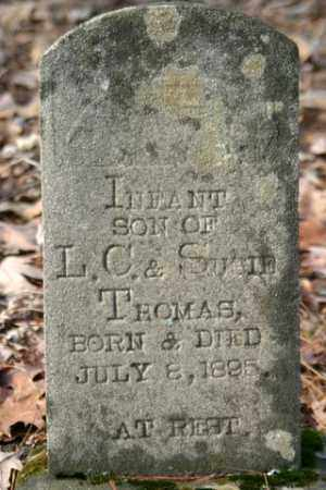 THOMAS, INFANT SON - Franklin County, Arkansas | INFANT SON THOMAS - Arkansas Gravestone Photos