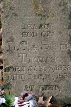 THOMAS, ISAAC - Franklin County, Arkansas | ISAAC THOMAS - Arkansas Gravestone Photos