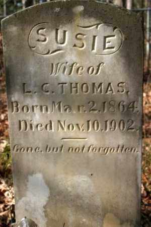 THOMAS, SUSIE - Franklin County, Arkansas | SUSIE THOMAS - Arkansas Gravestone Photos