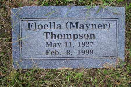 MAYNER THOMPSON, FLOELLA - Franklin County, Arkansas | FLOELLA MAYNER THOMPSON - Arkansas Gravestone Photos