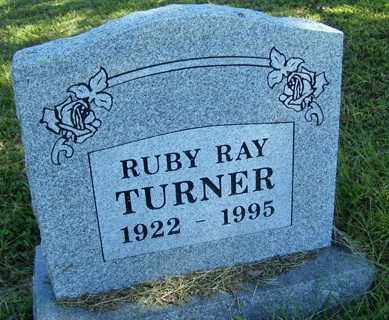 TURNER, RUBY RAY - Franklin County, Arkansas | RUBY RAY TURNER - Arkansas Gravestone Photos