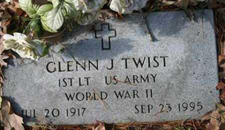 TWIST (VETERAN WWII), GLENN J - Franklin County, Arkansas | GLENN J TWIST (VETERAN WWII) - Arkansas Gravestone Photos