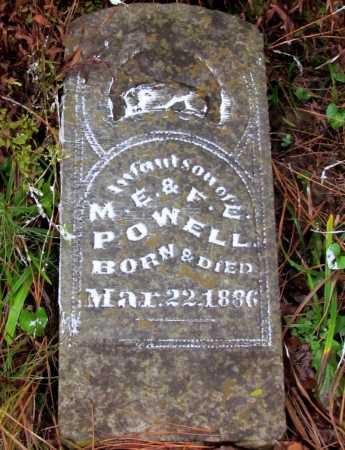 POWELL, INFANT SON - Franklin County, Arkansas | INFANT SON POWELL - Arkansas Gravestone Photos