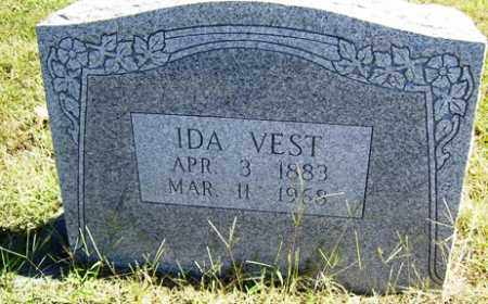 VEST, IDA - Franklin County, Arkansas | IDA VEST - Arkansas Gravestone Photos