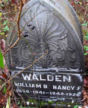 WALDEN, WILLIAM B - Franklin County, Arkansas | WILLIAM B WALDEN - Arkansas Gravestone Photos