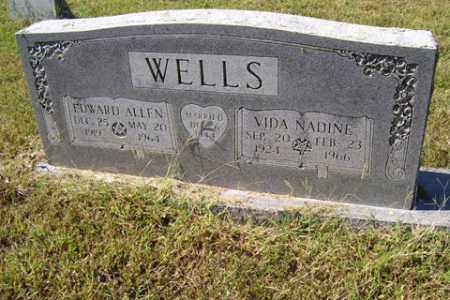 WELLS, EDWARD ALLEN - Franklin County, Arkansas | EDWARD ALLEN WELLS - Arkansas Gravestone Photos