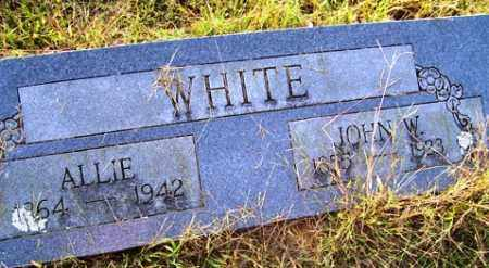 WHITE, JOHN W - Franklin County, Arkansas | JOHN W WHITE - Arkansas Gravestone Photos