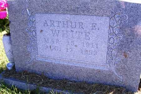 WHITE, ARTHUR ERVIN - Franklin County, Arkansas | ARTHUR ERVIN WHITE - Arkansas Gravestone Photos