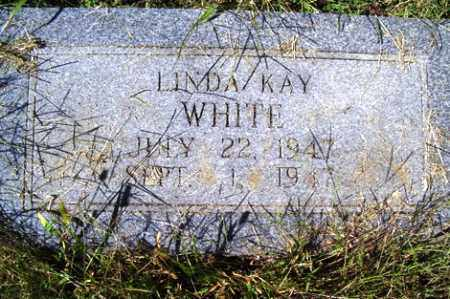 WHITE, LINDA KAY - Franklin County, Arkansas | LINDA KAY WHITE - Arkansas Gravestone Photos