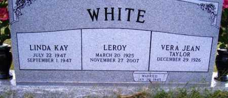 WHITE, LEROY - Franklin County, Arkansas | LEROY WHITE - Arkansas Gravestone Photos