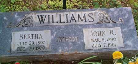 WILLIAMS, BERTHA - Franklin County, Arkansas | BERTHA WILLIAMS - Arkansas Gravestone Photos