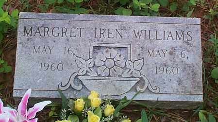 WILLIAMS, MARGRET IREN - Franklin County, Arkansas | MARGRET IREN WILLIAMS - Arkansas Gravestone Photos
