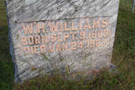 "WILLIAMS, WILLIAM HENRY ""BUD"" - Franklin County, Arkansas 