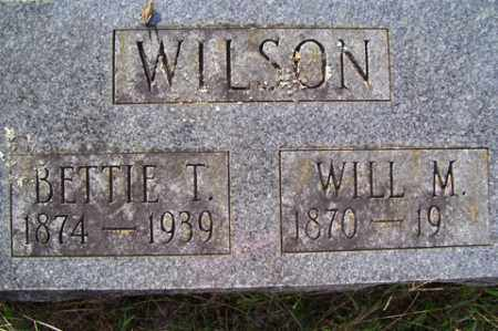 WILSON, BETTIE T. - Franklin County, Arkansas | BETTIE T. WILSON - Arkansas Gravestone Photos