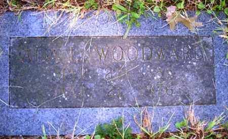 WOODWARD, ADA L. - Franklin County, Arkansas | ADA L. WOODWARD - Arkansas Gravestone Photos