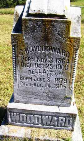 WOODWARD, DELLA - Franklin County, Arkansas | DELLA WOODWARD - Arkansas Gravestone Photos