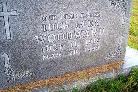 WOODWARD, IDUS GLEN - Franklin County, Arkansas | IDUS GLEN WOODWARD - Arkansas Gravestone Photos