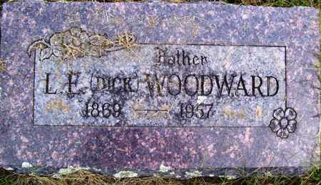 "WOODWARD, L. E. ""DICK"" - Franklin County, Arkansas 