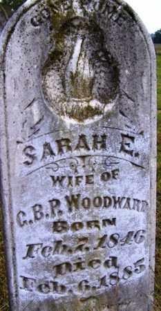 WOODWARD, SARAH E - Franklin County, Arkansas | SARAH E WOODWARD - Arkansas Gravestone Photos