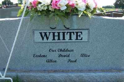 WHITE, DOROTHY NELL (BACK OF STONE) - Franklin County, Arkansas   DOROTHY NELL (BACK OF STONE) WHITE - Arkansas Gravestone Photos