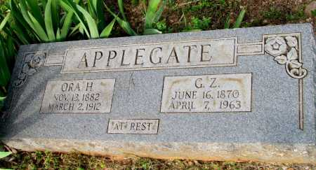 APPLEGATE, G Z - Fulton County, Arkansas | G Z APPLEGATE - Arkansas Gravestone Photos