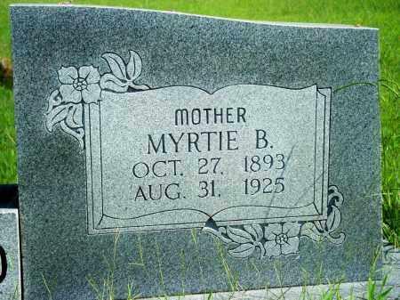 BALLARD, MYRTIE B. - Fulton County, Arkansas | MYRTIE B. BALLARD - Arkansas Gravestone Photos
