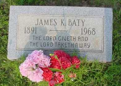 BATY, JAMES K. - Fulton County, Arkansas | JAMES K. BATY - Arkansas Gravestone Photos