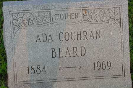 BEARD, ADA COCHRAN - Fulton County, Arkansas | ADA COCHRAN BEARD - Arkansas Gravestone Photos