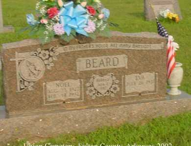 BEARD, NOEL HARLIN - Fulton County, Arkansas | NOEL HARLIN BEARD - Arkansas Gravestone Photos
