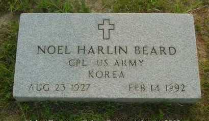BEARD  (VETERAN KOR), NOEL HARLIN - Fulton County, Arkansas | NOEL HARLIN BEARD  (VETERAN KOR) - Arkansas Gravestone Photos