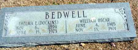 BEDWELL, WILLIAM OSCAR - Fulton County, Arkansas | WILLIAM OSCAR BEDWELL - Arkansas Gravestone Photos