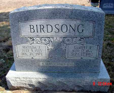 BIRDSONG, MATILDA J. - Fulton County, Arkansas | MATILDA J. BIRDSONG - Arkansas Gravestone Photos